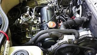Démarrage après changement de joint de culasse Renault Super 5