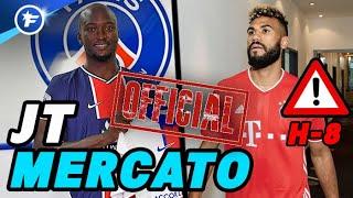 OFFICIEL : le PSG prend Danilo, Choupo-Moting au Bayern Munich | Journal du Mercato édition de 16H