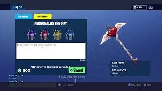 FORTNITE NEW GIFTING SYSTEM OUT NOW! | HOW TO GIFT SKINS | FORTNITE BATTLE ROYALE
