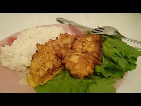 Рыба в кляре Рецепт с минтаем как приготовить блюдо вкусно ужин домашние классический быстро видео