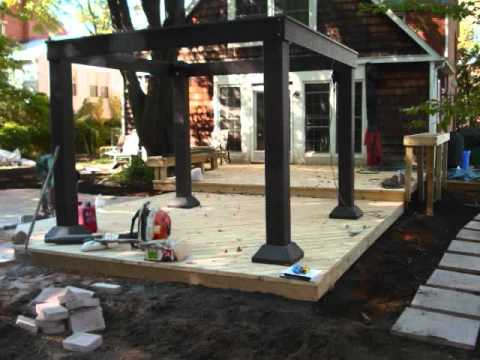 Before and After Photos of a New Outdoor Entertainment Space - S.wmv
