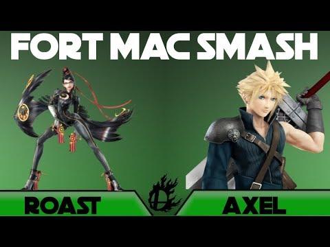 Fort Mac Smash 4: Roast(Bayonetta, Roy) vs. Axel (Cloud, Roy) Grand Finals