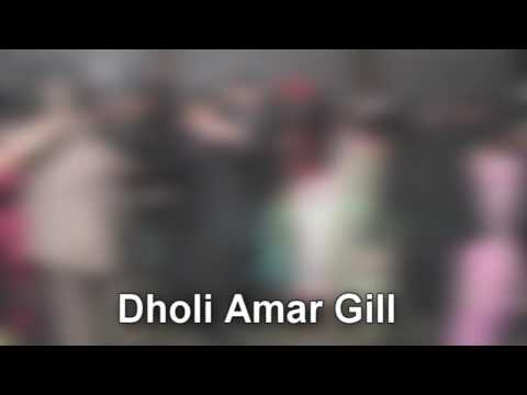 Dholi Amar Gill – Wedding Reception – Sangeet Group Aao Nachiye