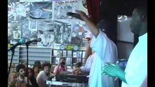 DJ Shadow and NUMP In Store