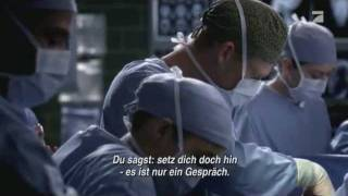 Grey´s Anatomy- how to save a life (german lycris + video)