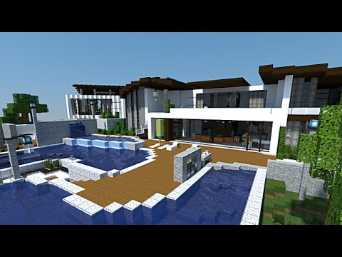 Minecraft - Maison de MAKAPUCHII !! - YouTube