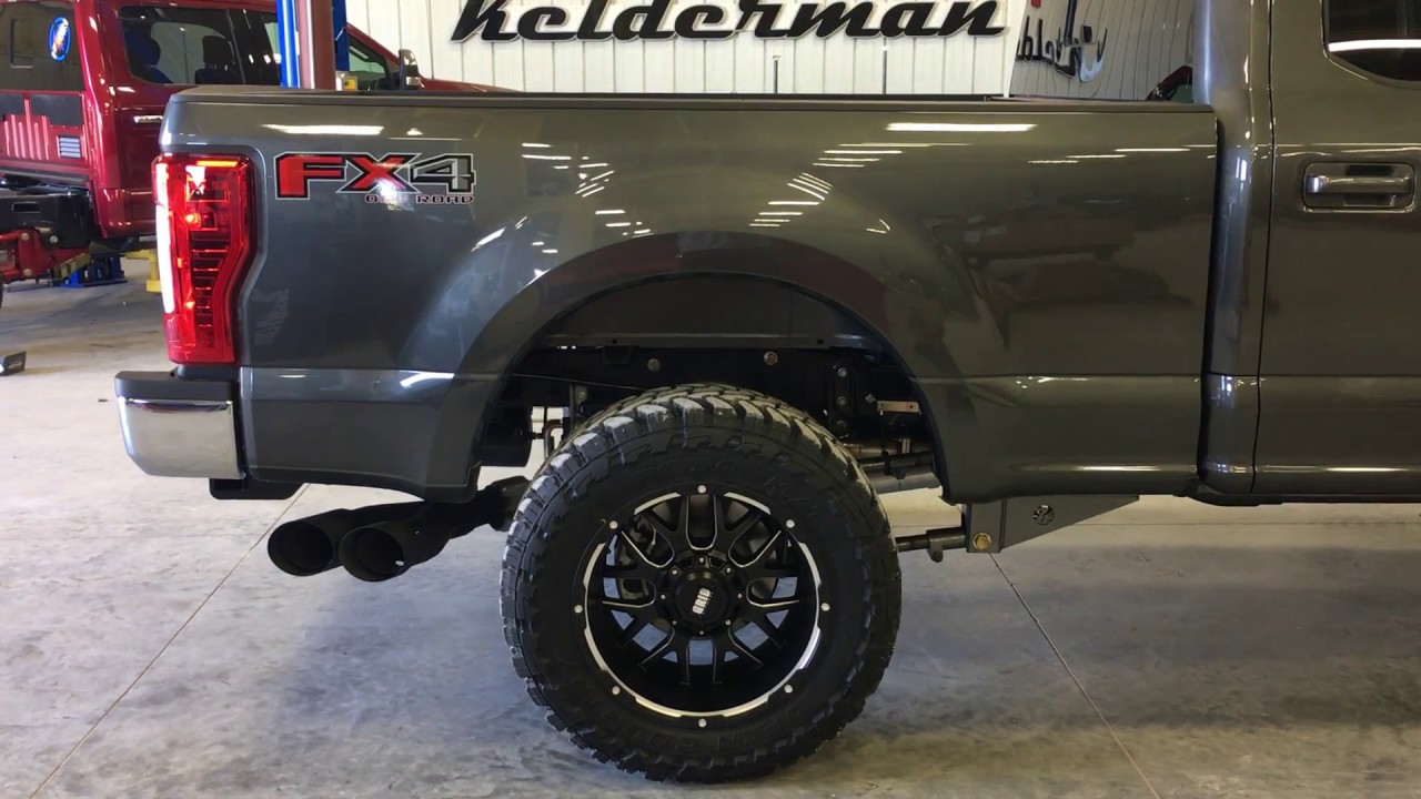 Kelderman 2017+ Ford Super Duty 4-Link Rear Air Suspension ...