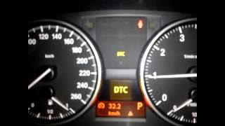 Different stages of DTC in BMW E90 2010 320i Auto Exclusive