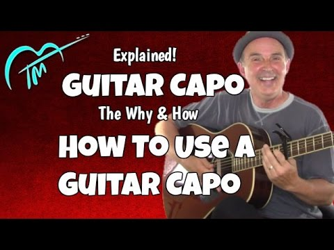 how-to-use-a-guitar-capo