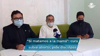 """Lázaro Hernández, sacerdote de Monclova, explica que sus dichos son una manera de """"hacer reflexionar a las mujeres"""". Fue criticado porque en misa dijo que """"era mejor que los padres mataran a sus hijas"""""""