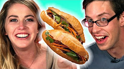 Americans Try Vietnamese Sandwiches