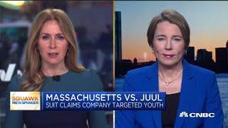 Massachusetts AG Maura Healey explains the state's lawsuit against Juul