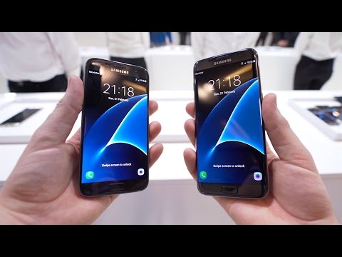 Samsung Galaxy S7 & S7 edge Hands-On: Das beste Smartphone 2016? - felixba