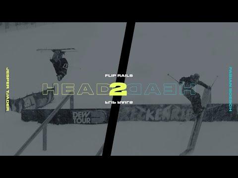 Head 2 Head: Jesper Tjader vs Fabian Boesch Rail Flip