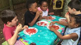 Takis challenge with A Fresh Start childcare