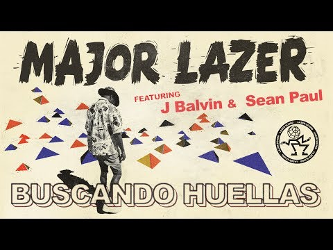 Major Lazer - Buscando Huellas (feat. J Balvin & Sean Paul) (Official Audio)