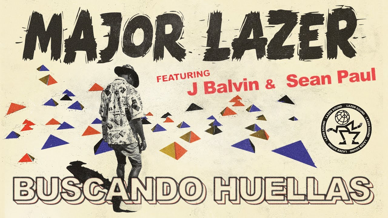 Major Lazer Buscando Huellas Feat J Balvin Sean Paul Official Audio