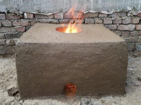 Primitive Technology ❤ How to make Tandoor Oven ❤ Tandoor Clay Oven ❤ Grandma's Village Style