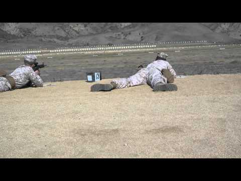 500 Yard Line on the Marine Corps Rifle Range (4k)