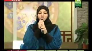 Faiza Salam | Huzoor Aisa Koi Intezam Ho Jaye | With Lyrics SubhaanAllah!