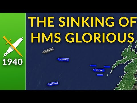 The Sinking of HMS Glorious: An Avoidable Tragedy?