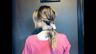 Hair of the Day: Scrunchie Flip