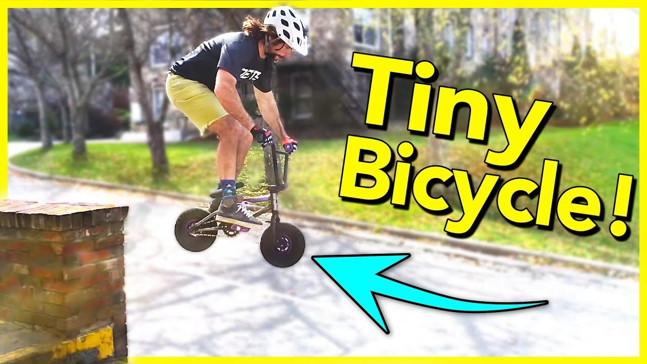 Bmx Bikes For Kids >> ROCKER MINI BIKE MAYHEM!! - Rocker Mini BMX Torture Test ...