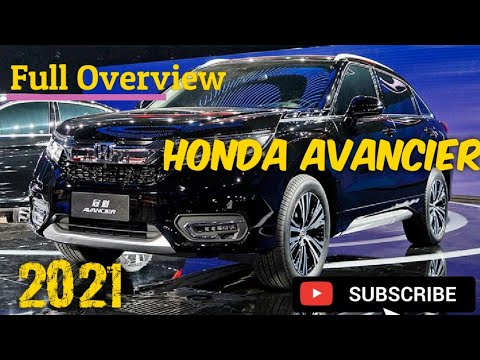2021 HONDA AVANCIER : SUV hDesign, Looks, Features, Coupe ...