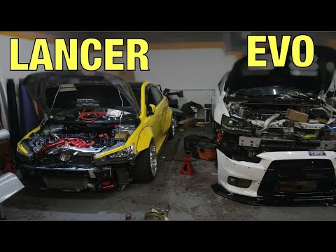Make Your Lancer Into A EVO By Doing THIS! (CHEAP)