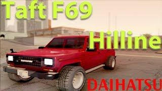 GTA San Andreas Mods - Daihatsu Taft F69 Hilline  [TUNABLE][IVF][HD][CAR]
