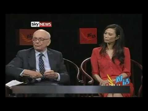 Rupert Murdoch & Wendi Deng Interview 'She's Tough'  - NOTW Phone Hacking *NEW*