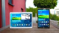 Review: Samsung Galaxy Tab S 8.4 & 10.5 (Deutsch) | SwagTab