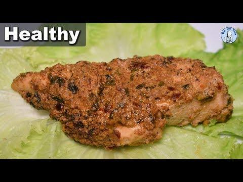 Oil Free Yogurt Chicken Recipe | Healthy Chicken Weight Loss Recipe | Diet With Amna
