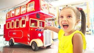 The wheels on the bus Song  Learn Kids Songs with Arina