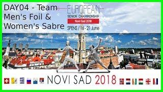 European Championships 2018 Novi Sad Day04 - Piste Green