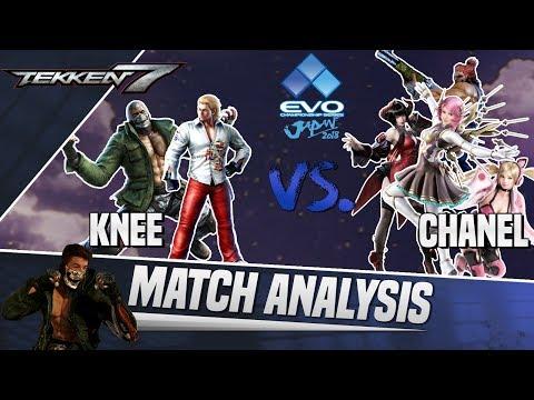 Tekken 7 Match Analysis: EVO Japan 2018 GRAND FINALS - Knee vs. Chanel