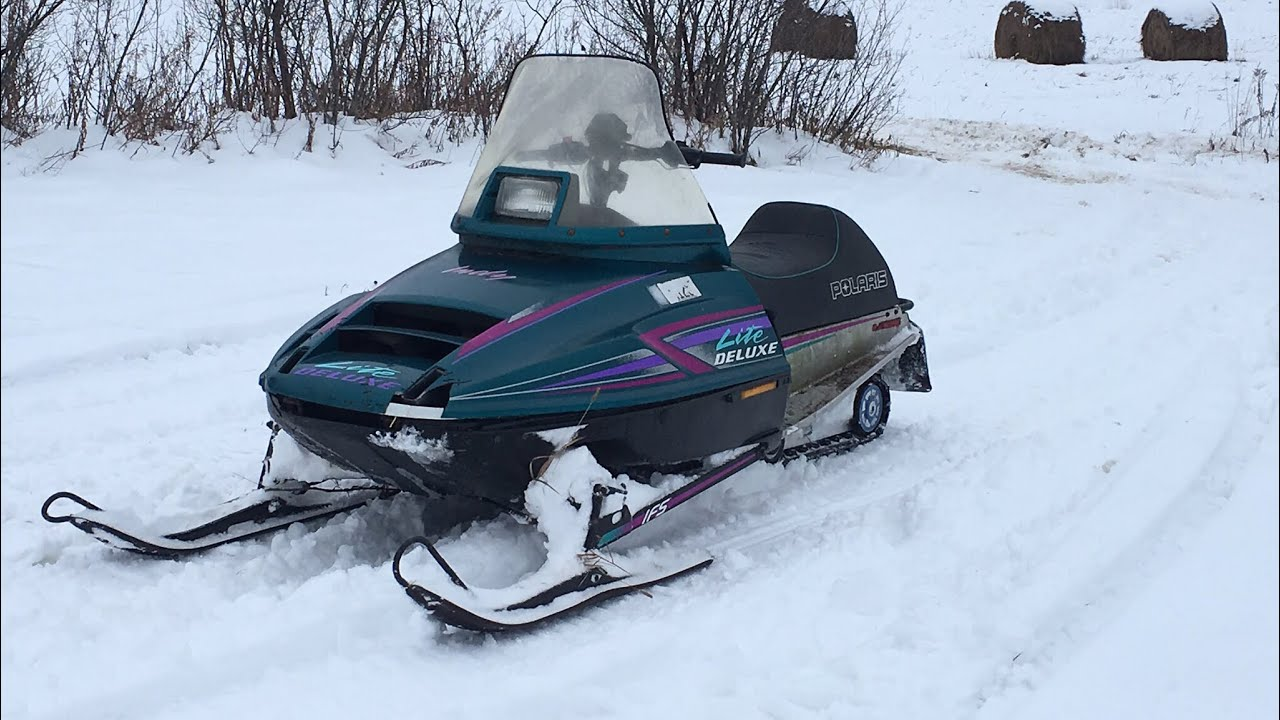 snowmobiling 1996 polaris indy lite deluxe 340 new subject  [ 1280 x 720 Pixel ]