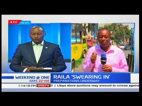 NASA's organizing committee to announce venue for Raila Odinga's inauguration