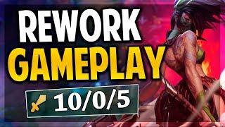 ¡AKALI REWORK GAMEPLAY! | ESTO SERA GODTIER! | PBE | League of Legends