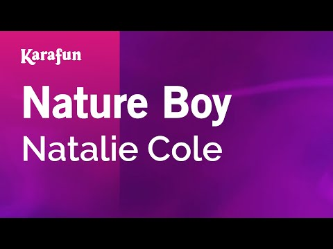 Karaoke Nature Boy - Natalie Cole *
