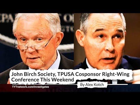 Jeff Sessions, Scott Pruitt Attend John Birch Society-Sponsored Event