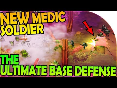 NEW MEDIC SOLDIER + THE ULTIMATE MILITARY BASE DEFENSE - Guns Up Gameplay