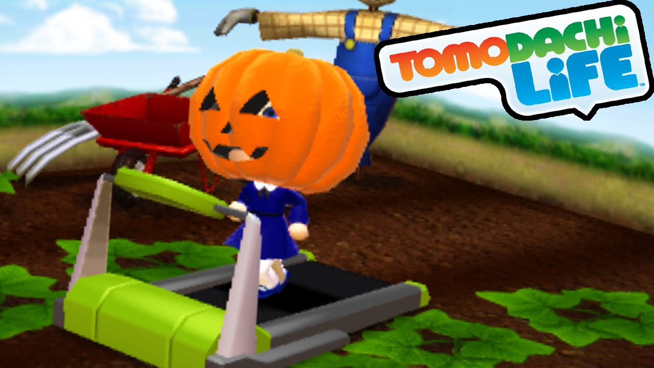Tomodachi Life 3DS Pumpkin Head, Fall Fashion, King Love Gameplay  Walkthrough PART 29 Nintendo