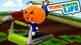 Tomodachi Life 3DS Pumpkin Head, Fall Fashion, King Love Gameplay Walkthrough PART 29 Nintendo