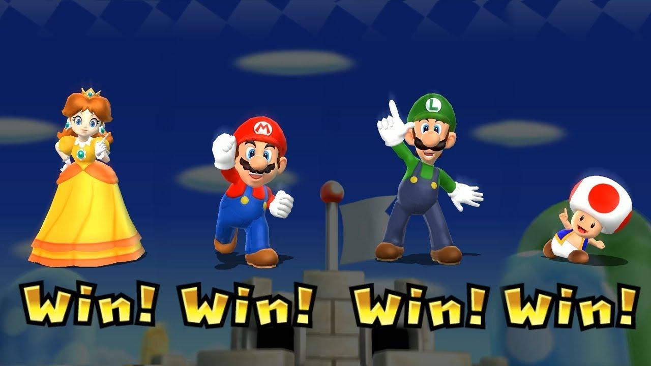 Mario Party 9 Step It Up - Daisy vs Mario vs Luigi vs Toad Master  Difficulty| Cartoons Mee