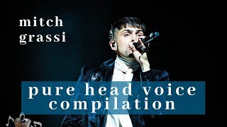 Mitch Grassi - Pure Head Voice Compilation