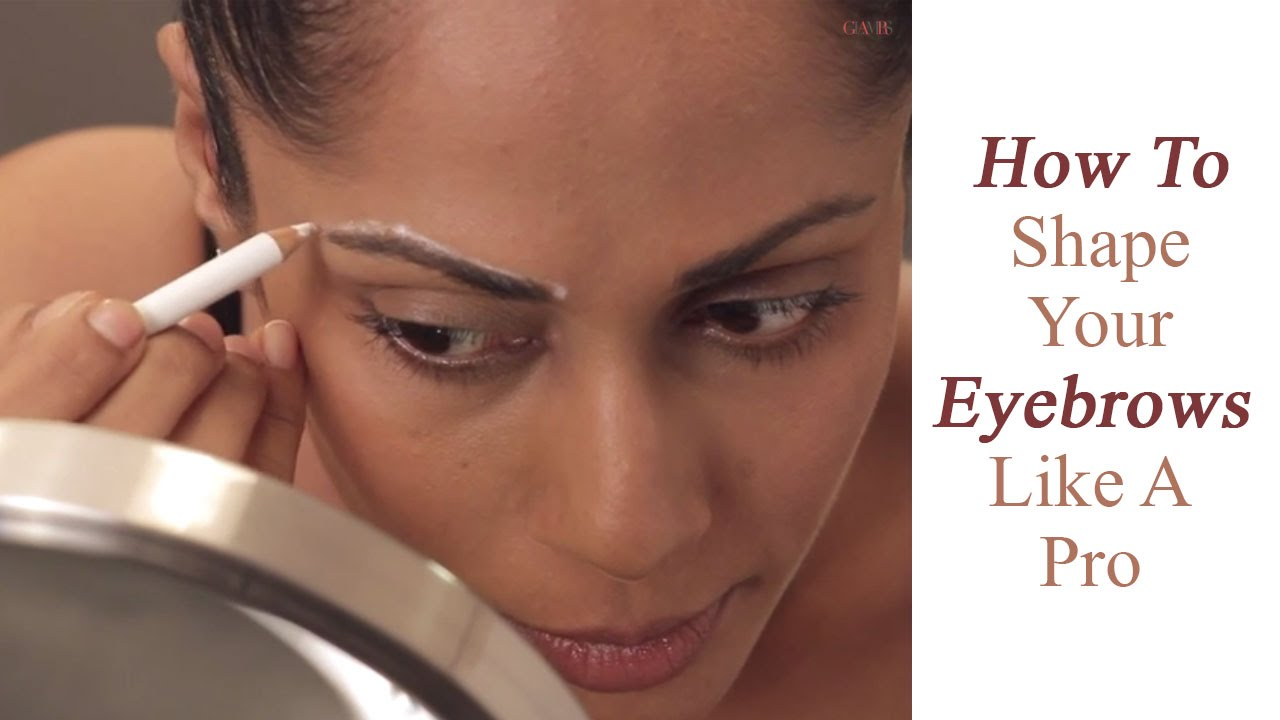 Eyebrow Basics How To Find The Right Shape Of Your Eyebrows