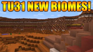 ★Minecraft Xbox 360 + PS3: Title Update 31 - NEW Biomes FULLY Explained Amplified Vs Normal★