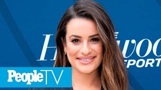 Lea Michele Reveals How She Is Finding Her 'Peace' While In Self-Isolation | PeopleTV