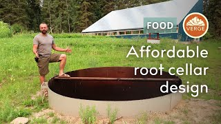 Affordable + Effective Root Cellar Design for North America and Cold Climates | Passive Technology